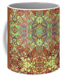 Kaleid Abstract Tapestry Coffee Mug