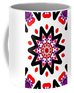'alien Head' Kaleidoscope Coffee Mug