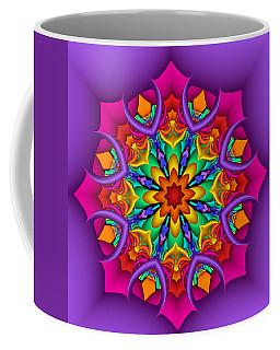 Kaleidoscope Flower 01 Coffee Mug