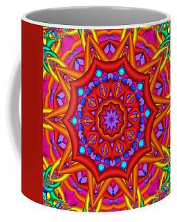 Kaleidoscope Flower 02 Coffee Mug