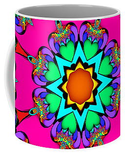 Kaleidoscope Flower 03 Coffee Mug