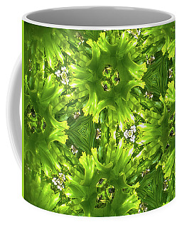 Coffee Mug featuring the photograph Kaleidoscope Flower by Julia Wilcox
