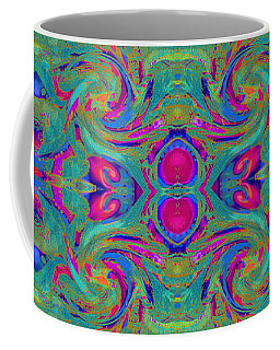 Kaleidoscope Heart Coffee Mug