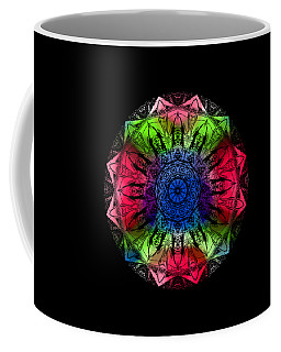 Kaleidoscope - Warm And Cool Colors Coffee Mug