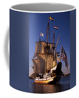 Kalmar Nyckel Coffee Mug by Skip Willits