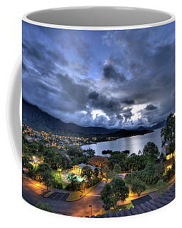 Kaneohe Bay Night Hdr Coffee Mug