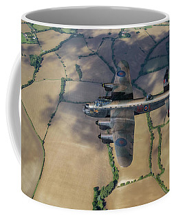 Kangaroo Nose Art Lancaster W5005 Coffee Mug