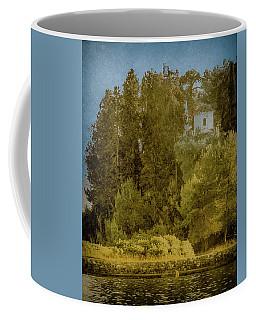 Coffee Mug featuring the photograph Kanoni, Corfu, Greece - Protected by Mark Forte