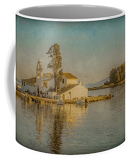 Coffee Mug featuring the photograph Kanoni, Corfu, Greece - Vlacherna Monastery And Pontikonisi by Mark Forte