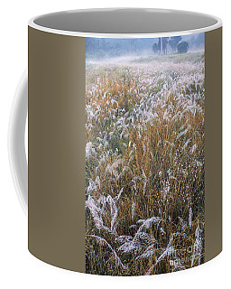 Kans Grass In Mist Coffee Mug