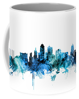 Kansas City Missouri Skyline Coffee Mug