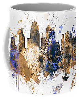 Kansas City Missouri Skyline Panoramic Coffee Mug