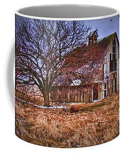 Kansas Countryside Old Barn Coffee Mug