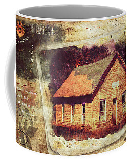 Kansas Old Stone Schoolhouse Coffee Mug