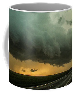 Coffee Mug featuring the photograph Kansas Storm Chase Bust Day 004 by NebraskaSC