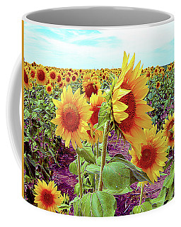 Kansas Sunflowers Coffee Mug