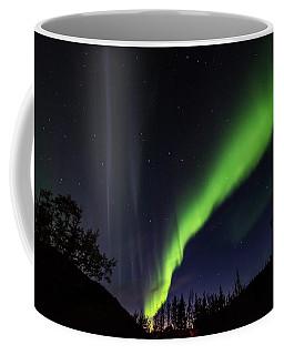 Kantishna Northern Lights In Denali National Park Coffee Mug