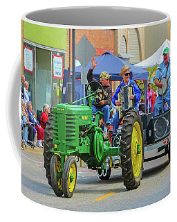 Coffee Mug featuring the photograph Karen And The Polka Gent by Trey Foerster