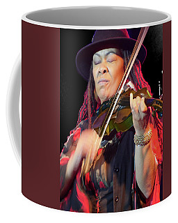 Karen Briggs 2017 Hub City Jazz Festival - In The Moment Coffee Mug