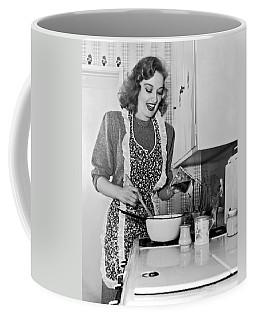 Karin Booth Cooking Coffee Mug
