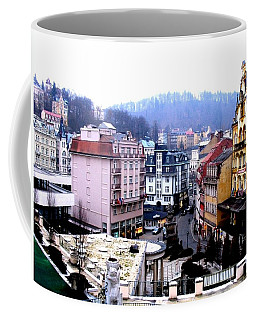 Coffee Mug featuring the photograph Karlovy Vary Cz by Michelle Dallocchio