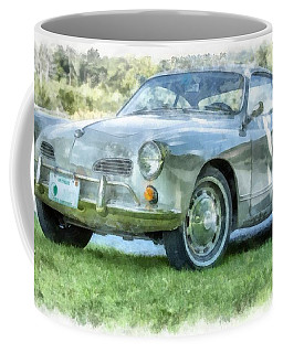 Karmann Ghaia Vintage Car Watercolor Coffee Mug