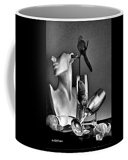 Karo In Black And White Coffee Mug