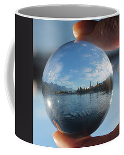 Kaslo Through The Looking Glass Coffee Mug by Cathie Douglas