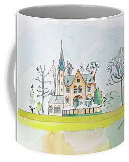 Kasteel Restaurant, Minnewater, Bruges Coffee Mug by Keshava Shukla