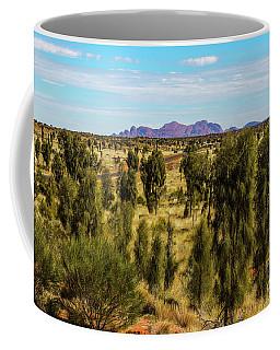 Coffee Mug featuring the photograph Kata Tjuta 01 by Werner Padarin