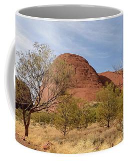 Coffee Mug featuring the photograph Kata Tjuta 05 by Werner Padarin