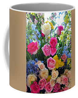 Kate's Flowers Coffee Mug