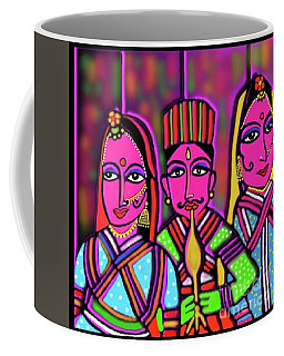 Kathputli Coffee Mug by Latha Gokuldas Panicker