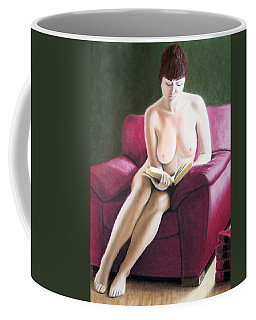 Kathryns Pasttime Coffee Mug by Joseph Ogle