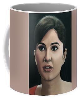 Katrina Kaif Coffee Mug by Vishvesh Tadsare