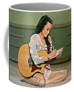 Katy Perry Painting Coffee Mug