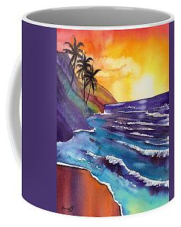 Kauai Na Pali Sunset Coffee Mug