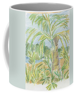 Kauai Palms Coffee Mug