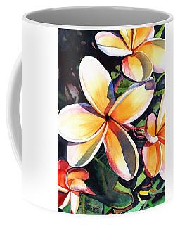 Kauai Rainbow Plumeria Coffee Mug