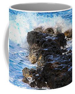 Kauai Rock Splash Coffee Mug