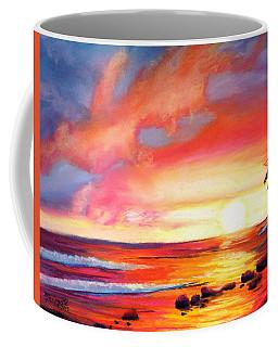 Kauai West Side Sunset Coffee Mug by Marionette Taboniar