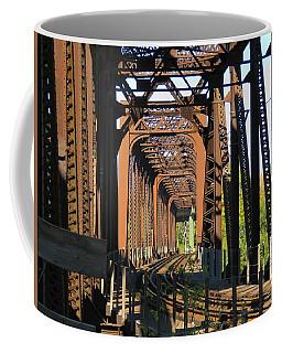 Kaw Point Railroad Bridge Coffee Mug