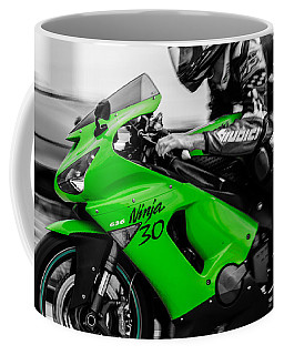Kawasaki Ninja Zx-6r Coffee Mug by Andrea Mazzocchetti