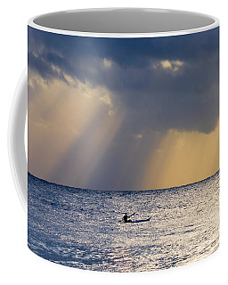 Kayak At Dawn Coffee Mug