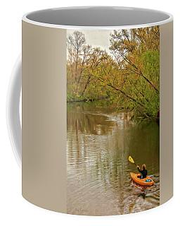 Kayak At Mead Coffee Mug