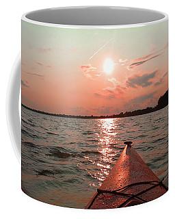 Kayak Sunset Coffee Mug