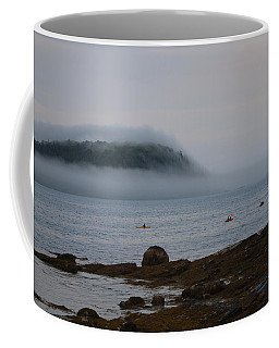 Coffee Mug featuring the photograph Kayaker Delight by Living Color Photography Lorraine Lynch