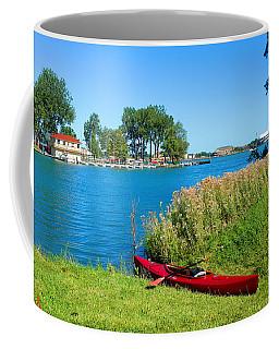 Kayaking Canals Of Belle Isle Coffee Mug