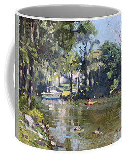Kayaking Coffee Mug