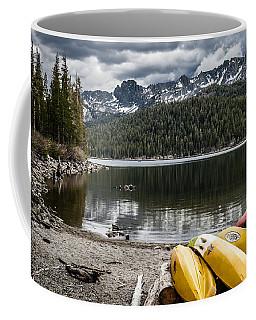 Kayaks At Lake Mary Coffee Mug